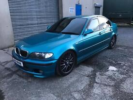 2003 BMW 330d M Sport Individual - Atlantis Blue - Full History - Leather - Remapped - Lowered