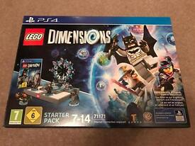 Lego Dimensions PS4 Starter Pack Brand New