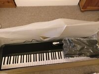Korg B1 Digital Piano - Hammer weighted, sustain pedal, quality sound, headphone jack, music stand