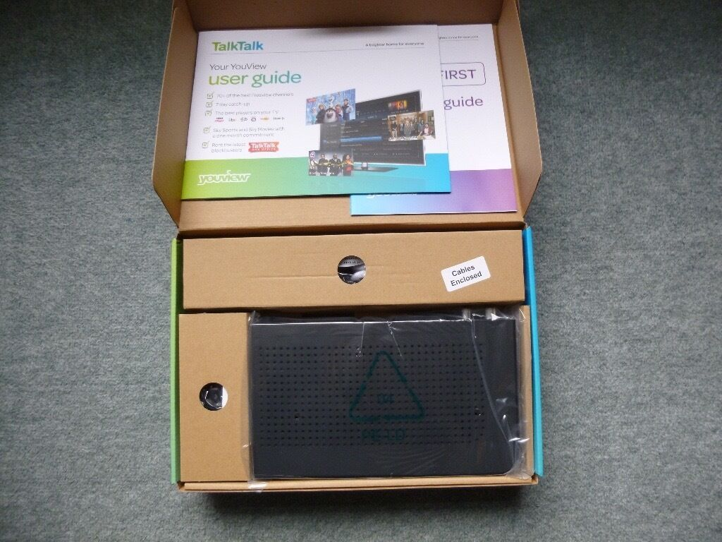 New You View Hd Talk Talk Box Huawei 360t Freeview And Catch Up