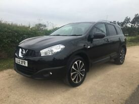 2012 NISSAN QASHQUI +2 1.6 DCI N-TEC+ ABSOLUTELY STUNNING! FULLY LOADED! FULL HISTORY! FAULTLESS!