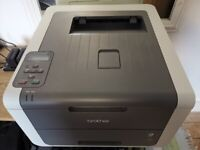 Brother small industrial colour laser printer-uses cheap toner