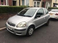 (53) TOYOTA YARIS T2 1.0 LOW MILEAGE DRIVES GREAT