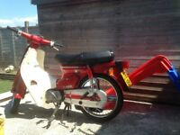 Honda c90 j reg in excellent condition