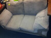 2 seater sofa with washable covers
