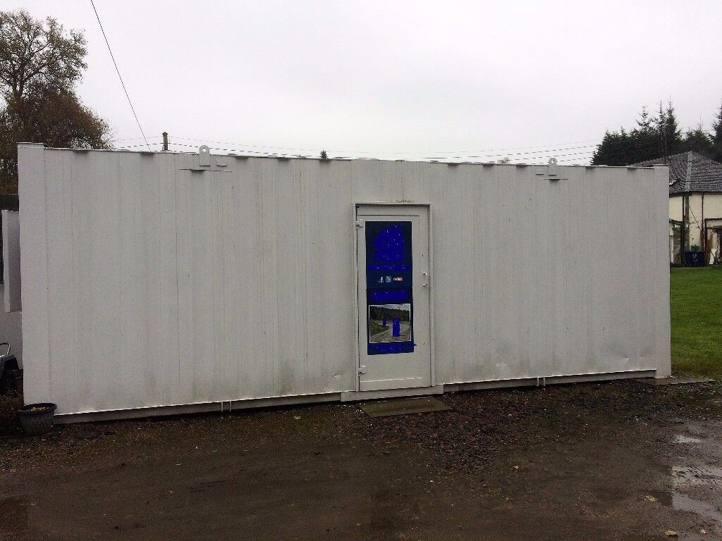 24' x 9' Storage / Shipping Container (Temporary Building)