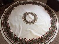 Xmas table cloth