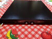 LD Systems SP600 x2 550w 1U amplifier