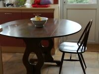Ercol dining room table and chairs for sale