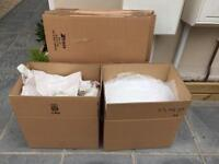 "20 Medium Size Moving Boxes 18x12x12"" / 457x305x305 mm"
