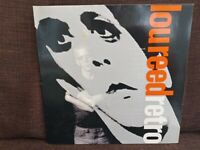 Lou Reed vinyl album.