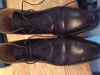 Crockett & Jones Tetbury Mens Boot - Size 8.5E - Brown