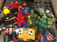 Selection of dress up costumes