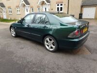2002 Lexus IS 200 SE METALLIC GREEN, COMPLETE SERVICES HISTORY BY LEXUS DEALER IN PERFECT CONDITION