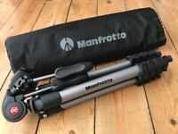 Manfrotto Camera Tripod with 3 Way Head