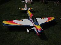 "RC plane Radio controll F3A style aerobatic plane, ""Striker 90"""