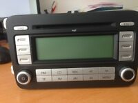 Volkswagen RCD 500 MP3 6 Disc CD player changer with code