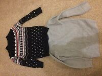 Two boys jumpers age 5-6 years