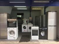Washing machine Fridge freezer and cooker