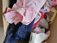 Free baby girl clothes and nappies. ...