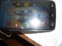ALCATEL POP C7 mobile phone. Dual sim card model