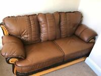 2 and 3 Seat , Leather sofa