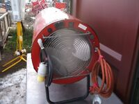 Clark devil 3150 gas / electric space heater 200,000 – 344,000 BTU/hr many more available