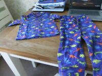 Age 2-3 Year Dino Pyjamas As New Unwanted Gift
