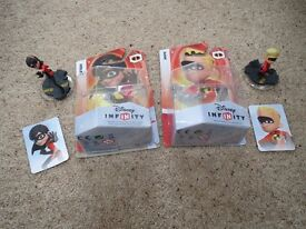 Disney Infinity Violet and Dash Incredible PS3 Xbox 360 Wii The Incredibles