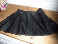 Misguided leather look skirt size12 new with tags