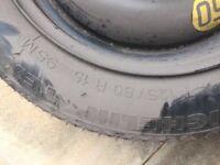 Ford Fiesta spare wheel 2012 plate