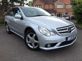 2008 MERCEDES-BENZ R CLASS 3.0 R320 CDI Sport 5dr PRIVATE PLATE INCLUDED ( L5DKF) SATNAV F/History