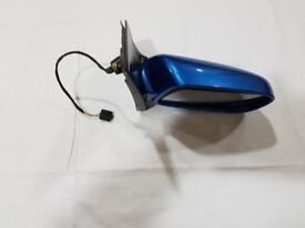 Toyota Yaris Sky Blue Driver side Electric Wing Mirror