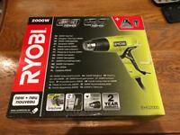 RYOBI 2000w Heat Gun brand new