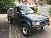 Toyota 4-RUNNER 3.0 V6 5dr 4 By 4 Power Full Car @07445775115