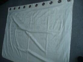 Curtains cream colour