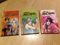 Manga books-Les Bijoux 1-3 in perfect condition