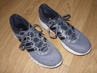 Grey Adidas Duramo 6 Adiprene + Running Shoes / Trainers Size UK 12 EUR 47 1/3 - Excellent Condition