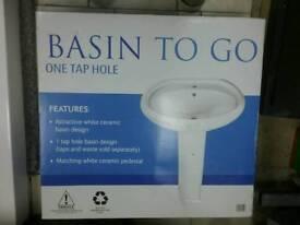 Bathroom sink new