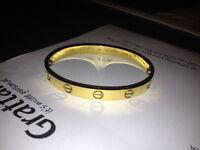 Cartier LOVE Bracelet / 18ct Yellow Gold / Size 19