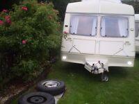 2 berth ace touring caravan