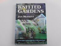 Knitted Gardens - Jan Messent. 9780855326791 Hardbacked book with original cover