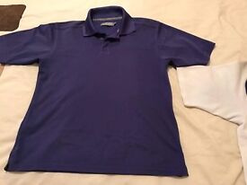 Junior ping polo purple .junior large