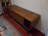 Vintage Bang & Olufsen Radiogram Cabinet Unit with Speakers Storage Teak Hardwood