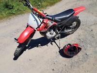 Dirt bike off road