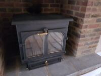 Clearview 650 12kw Multifuel Stove Black