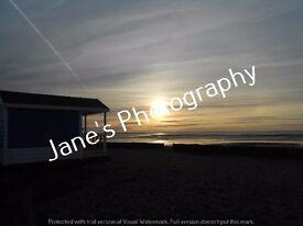 "Sunrise picture Calshot Beach - 10"" x 8"""