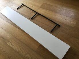 Ikea Lack 1.9m long wall shelf