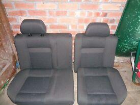 VW POLO 6N2 3 DOOR GREY CLOTH REAR SEAT