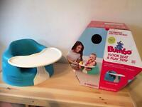 Bumbo and play tray